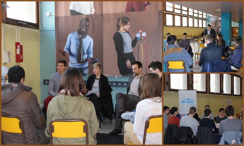 ateliers CV avec ALCOA; ENGIE et SOCOMEC