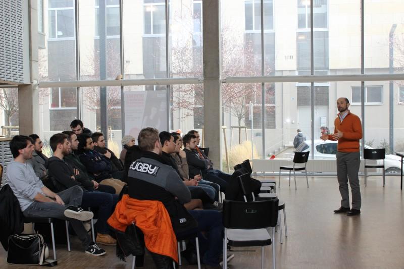 atelier créer son réseau avec l'association ds anciens Arts & Industrie - Damien Edel