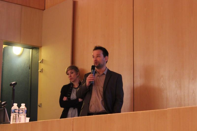 Alcoa Architectural Products : Emilie Finck, chargée de projet RH et Thierry Riegert ingénieur Support technique à la vente