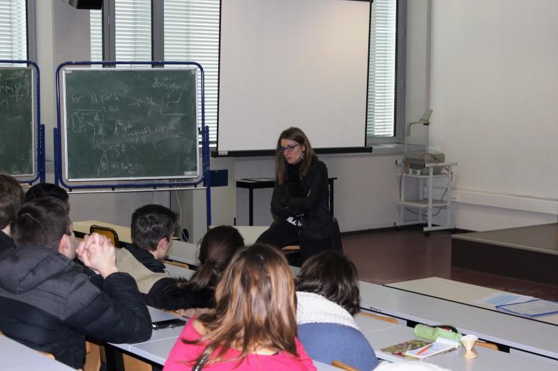 atelier carrières et témoignage diplômé chez EDF/ES - Mme Gaëlla Haller