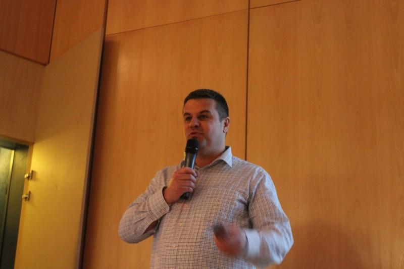 SIEMENS : Régis Heluin, Directeur régional de Siemens Building Technology à Strasbourg.