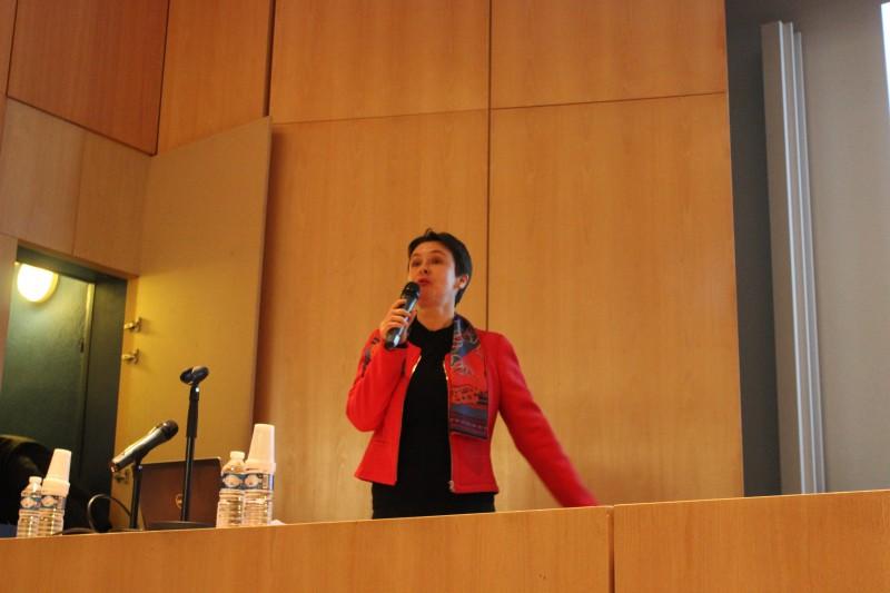 Ouverture de la journée par Mme Monica Siroux, directrice du département génie énergétique et climatique