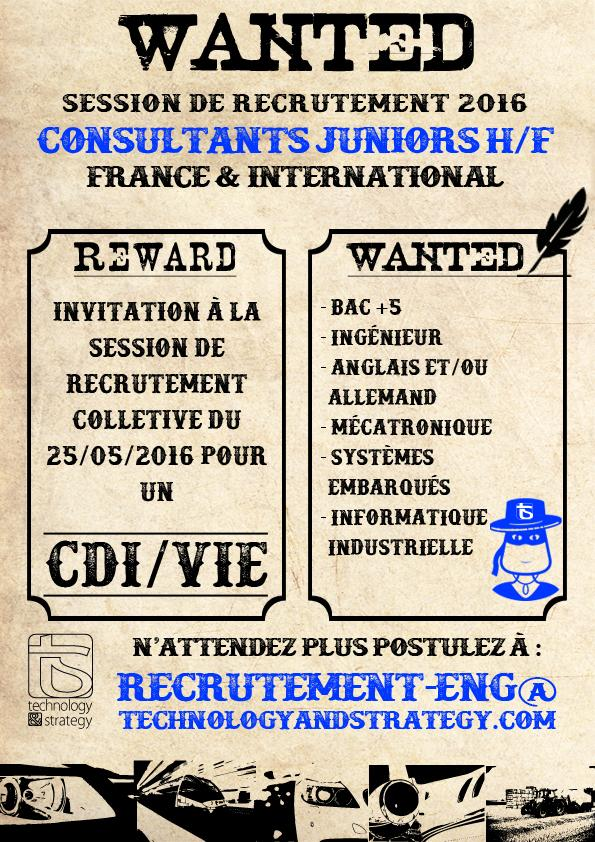 Cession de recrutement TS
