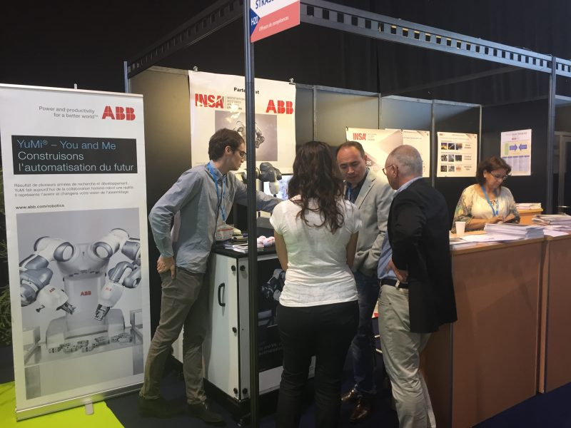 Salon industries du futur 2017 abb et insa strasbourg for Salon bio strasbourg 2017