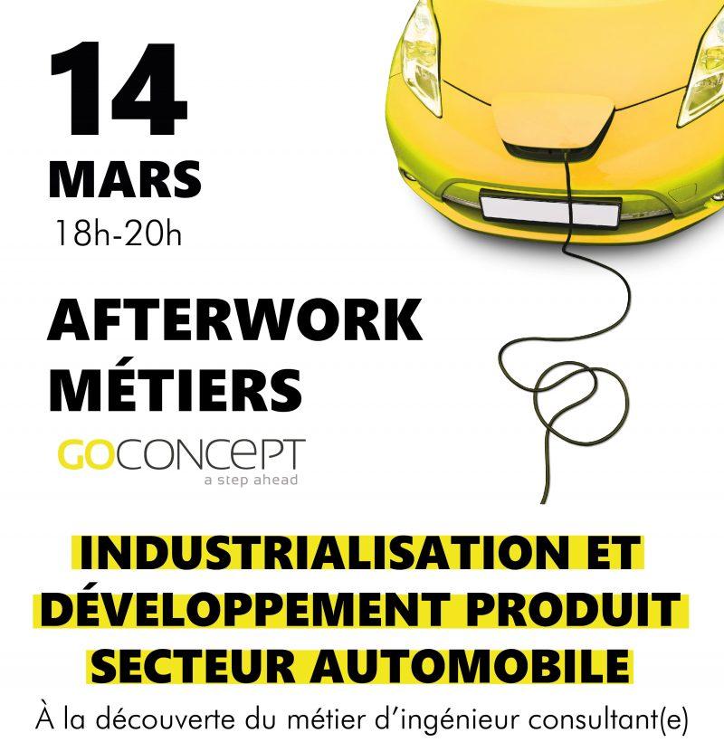 afterwork m u00e9tiers go concept   ing u00e9nieur e consultant e